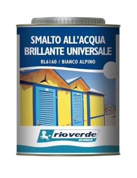 RL6160 SMALTO UNIVERSALE ALL'ACQUA BRILLANTE RENNER RIOVERDE