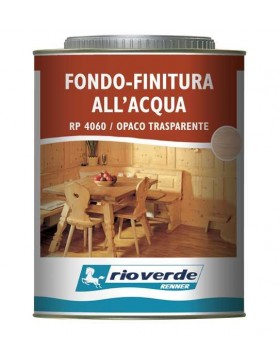 RP4060 FONDO FINITURA ALL'ACQUA TRASPARENTE OPACO RENNER RIOVERDE